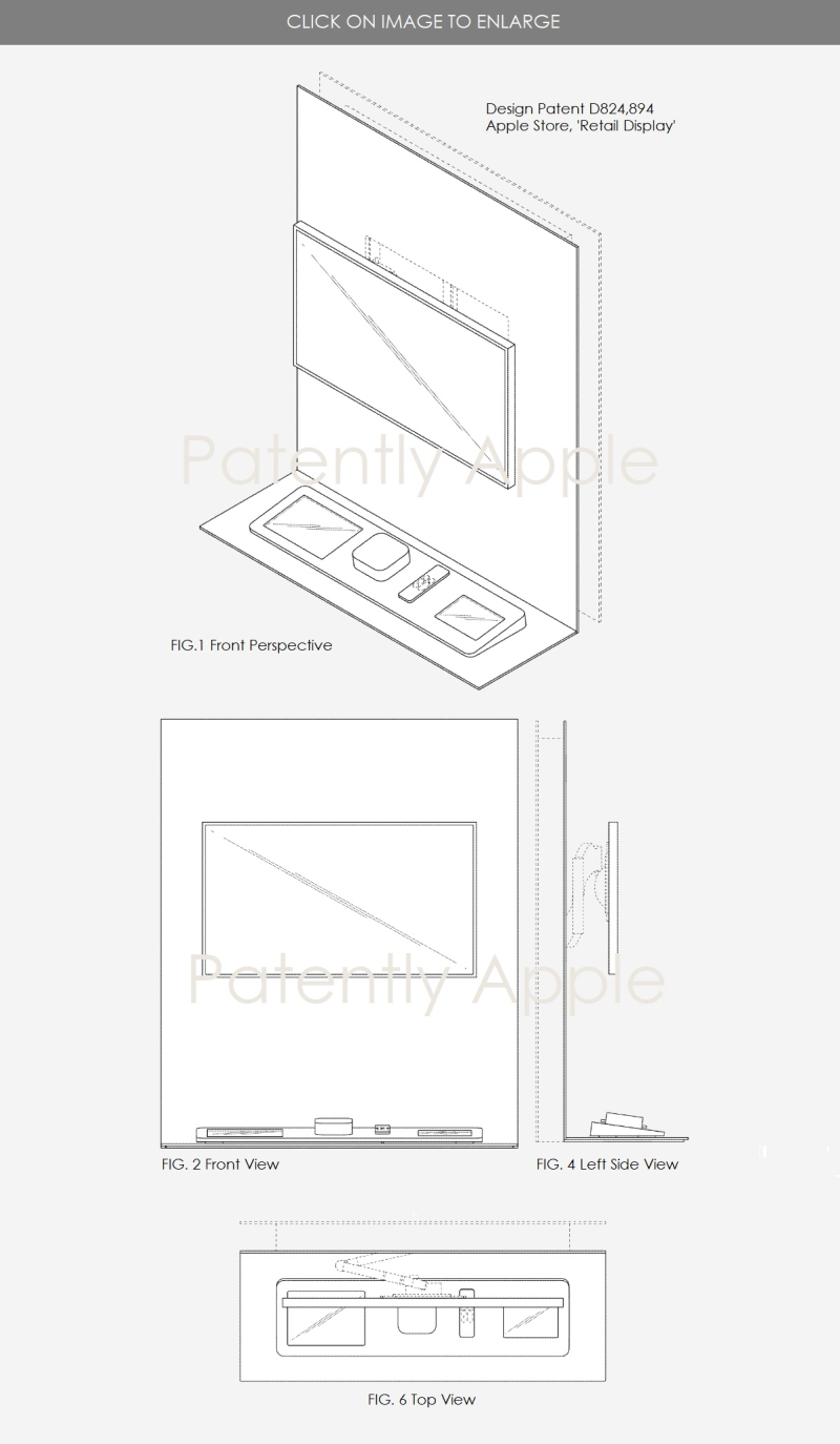 4 design patent  retail display apple store  aug 2018 - Patently Apple