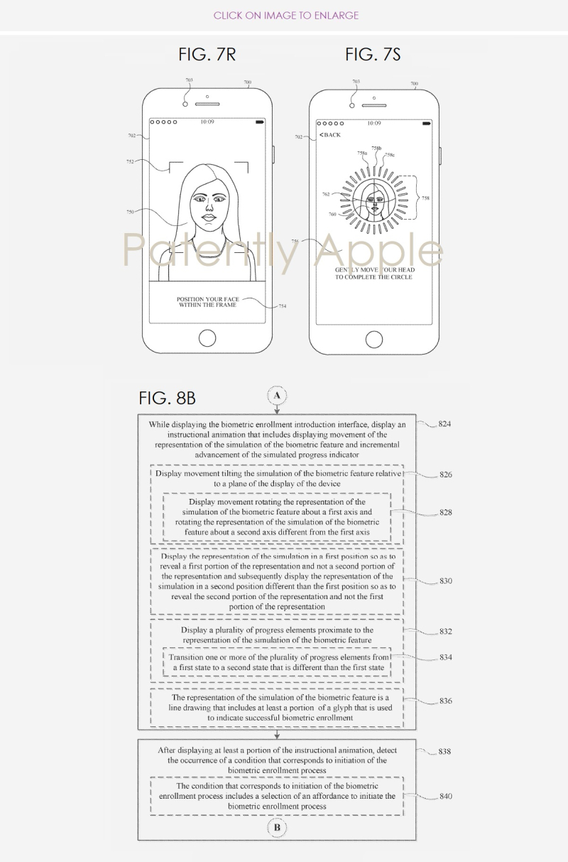 3 X Apple Face ID Patent surfaces in Europe