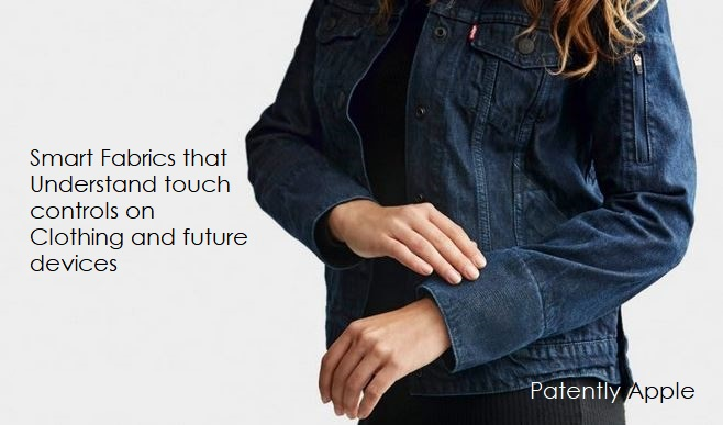 1 X cover - smart fabrics in cuff of jean jacket