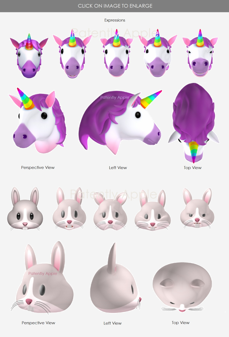 4 APPLE ANIMOJIS WINS DESIGN PATENTS IN HONG KONG  CHICKEN & UNICORN & More  -- PATENTLY APPLE REPORT AUG 25  2018