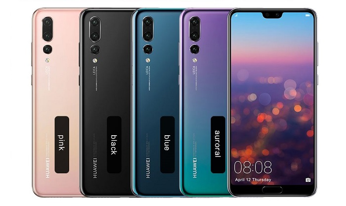 1 X Huawei P20 smartphone