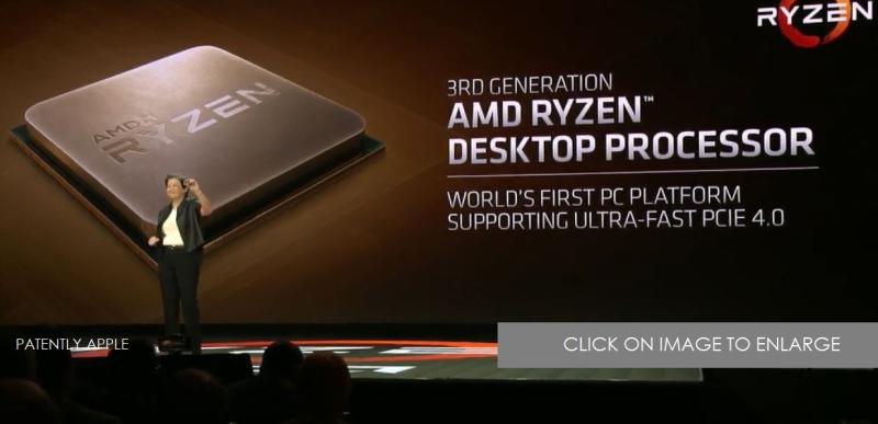 5 AMD RYZEN 3RD GEN 7NM LAUNCHES MID 2019  PHOTO CES 2019