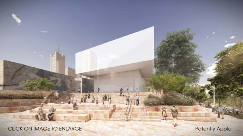 1 X X cover new proposed Apple store melbourne Fed Square