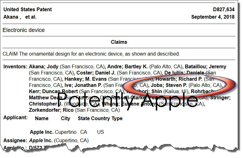 3B X 1 X Extra iPhone 4s Steve Jobs listed as one of the inventors