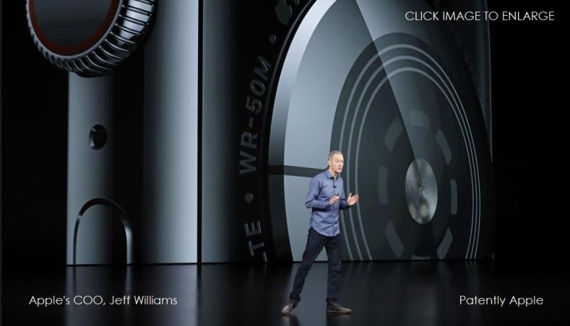 1 X Jeff Williams on stage talking Apple Watch
