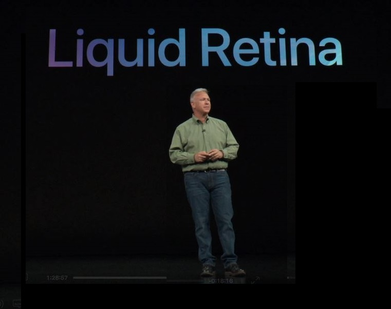5 X liquid retina display