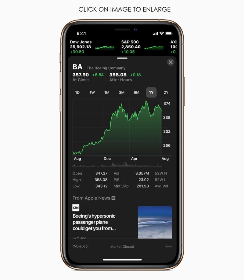 8 - ios12 iphone xs new stocks App