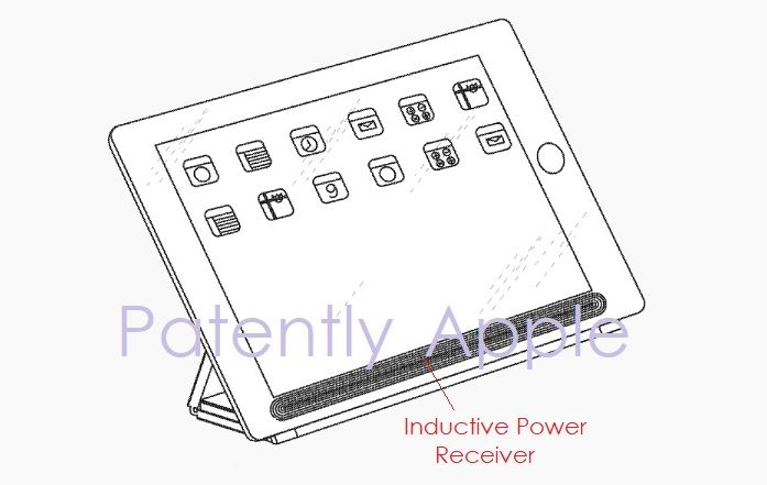 1 Cover --- iPad Inductive power Cover patent