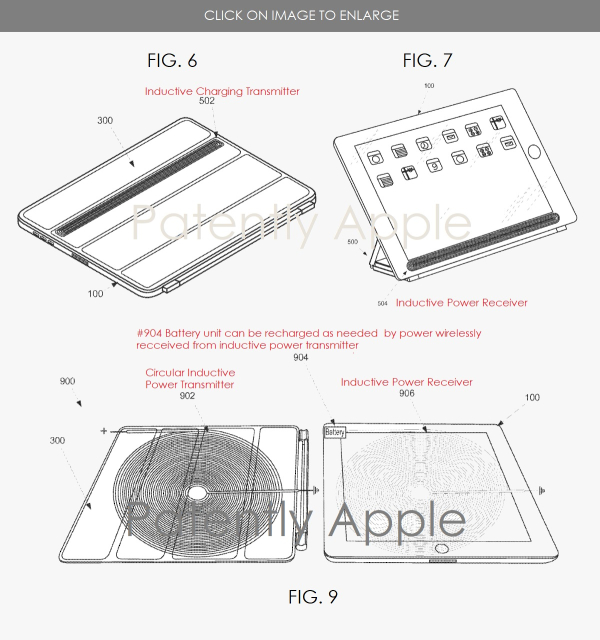 apple u0026 39 s work on an ipad cover with built
