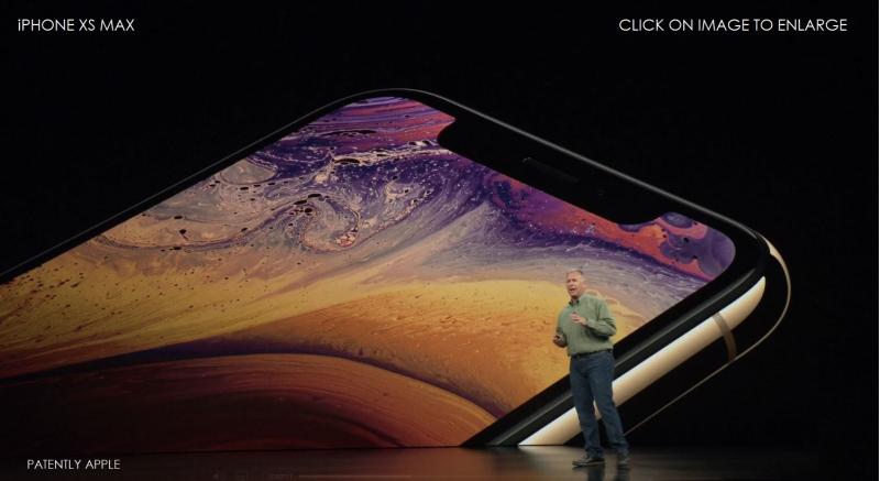 1 X -  iphone xs max  Phil Schiller svp worldwide marketing