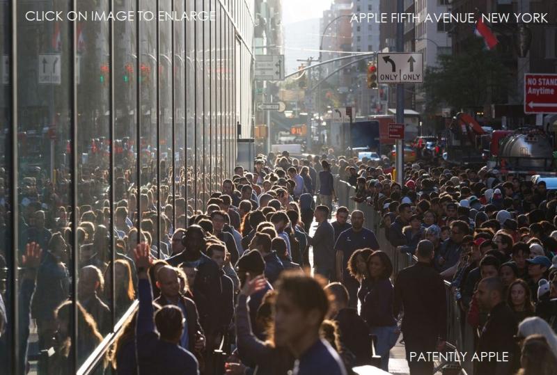 3 NEW YORK APPLE STORE 2017 IPHONE x LAUNCH