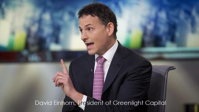 1 X David Einhorn  Greenlight Capital