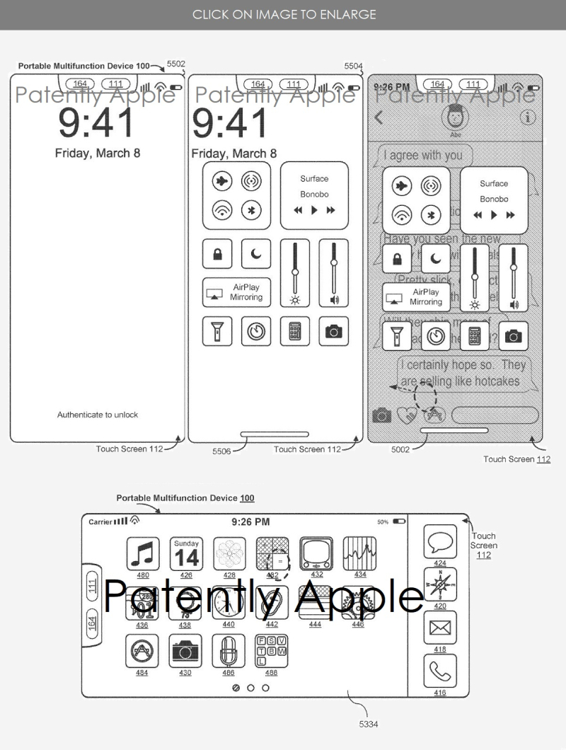 2 X Apple  major iphone x iOS 11 patent  Euro patent  Patently Apple  Oct 7  2018