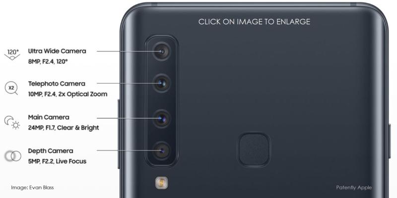 3 X LARGE samsung A9 4 cameras image