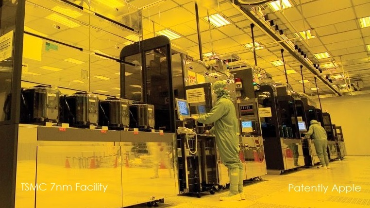1 X 99 TSMC 7nm facility