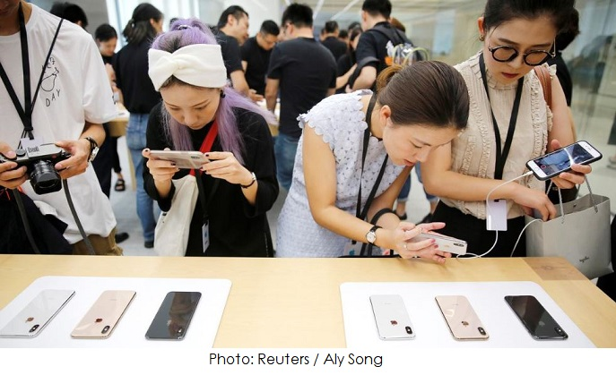 1 X cover foreign apple stores