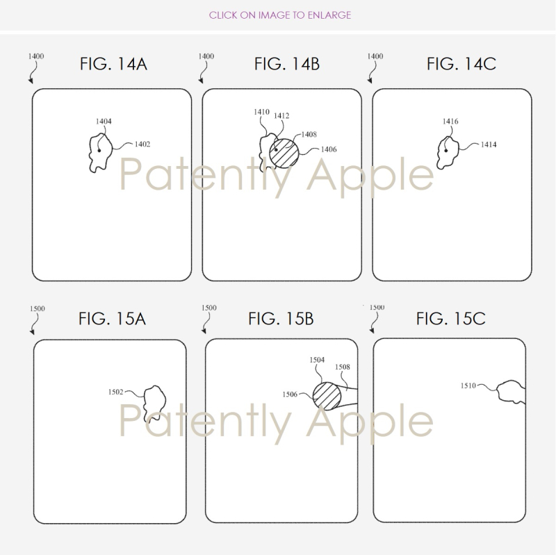3 apple patent finger tracking in wet environments