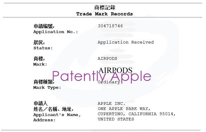 2 X HONG KONG NEW AIRPODS TM GOOD NEW DESCRIPTION