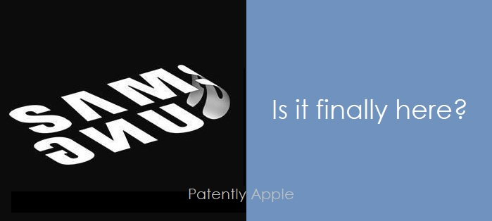 1 X Samsung logo folded over