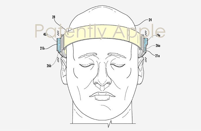 1 XX2 Cover Apple headband  headset patent