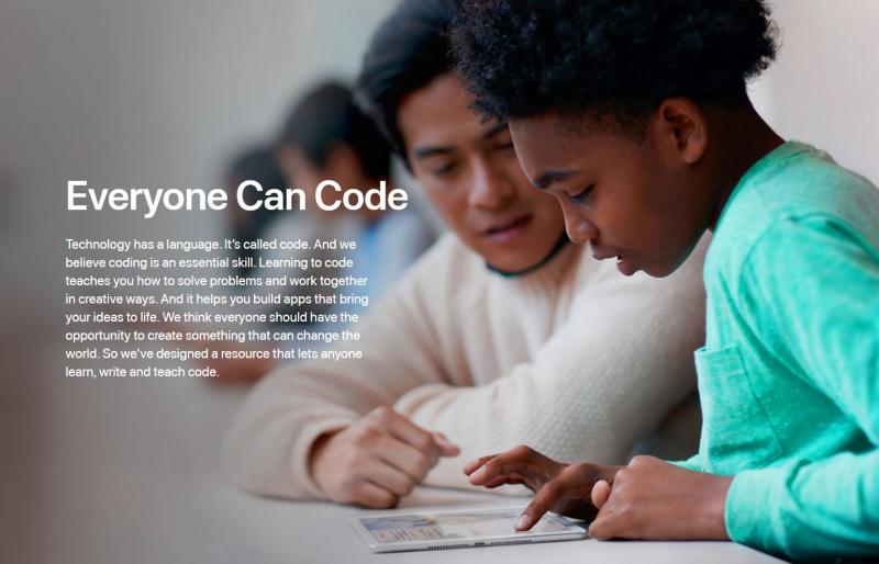 5 Everyone can code Apple