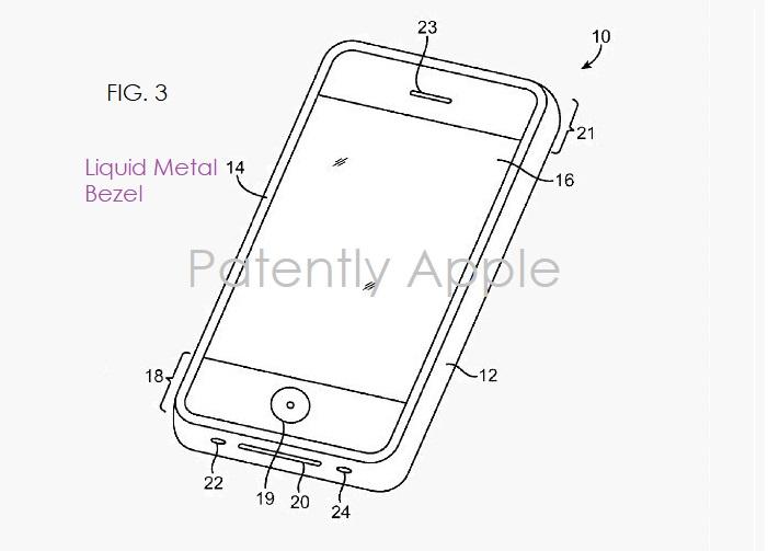 2 X  iPhone using liquid metal
