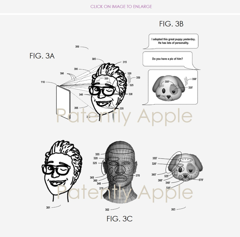 4 X APPLE PATENT FIGURES 3A B & C - PATENTLY APPLE REPORT NOV 22  2018