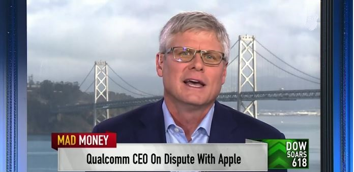 1 X cover. Qualcomm CEO
