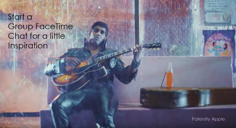 2 X Apple Group FaceTime ad with elvis theme  2  nov 29  2018 Patently Apple report