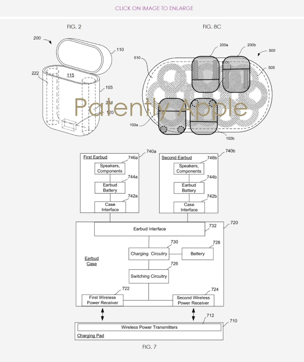 Apple Wins their Eighth AirPods Chargeable Case Patent