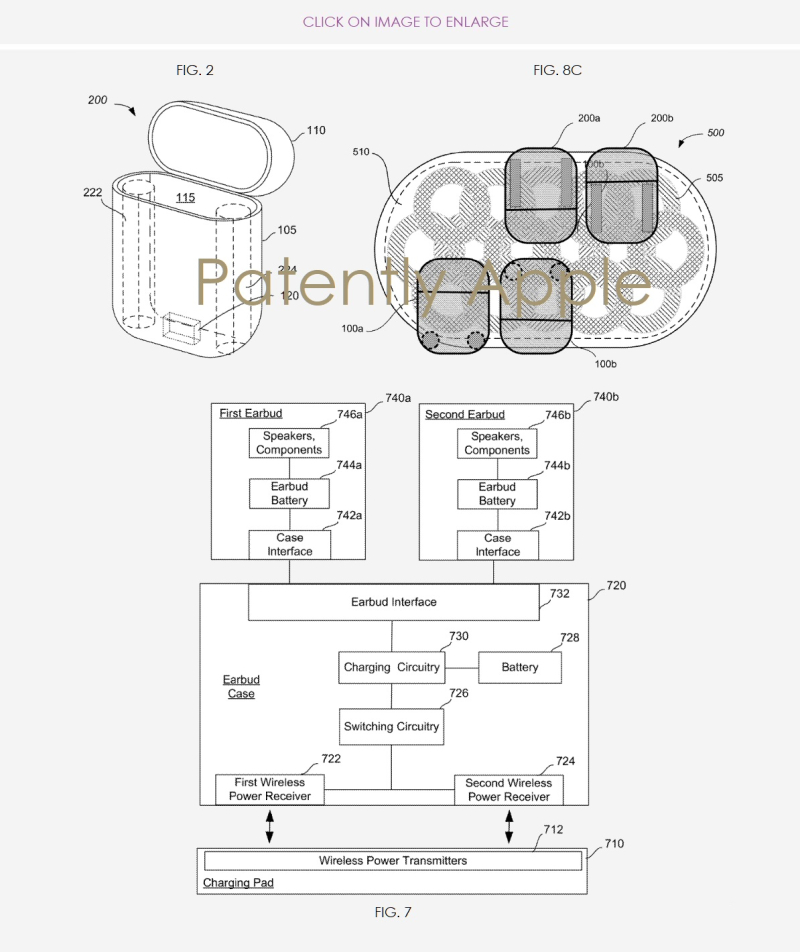 2 Apple AirPods case patent