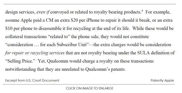 Apple and their Manufacturing Partners Reveal the Depth of Qualcomm's Licensing Greed in Court Document