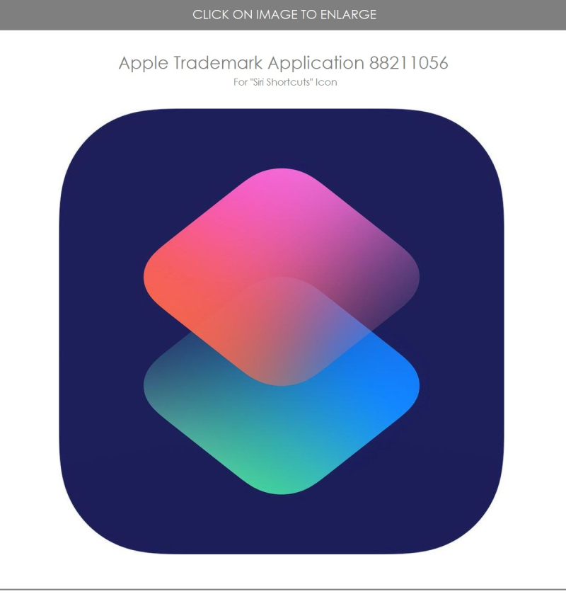 3 Siri Shortcuts Icon TM application  Patently Apple report dec 4  2018