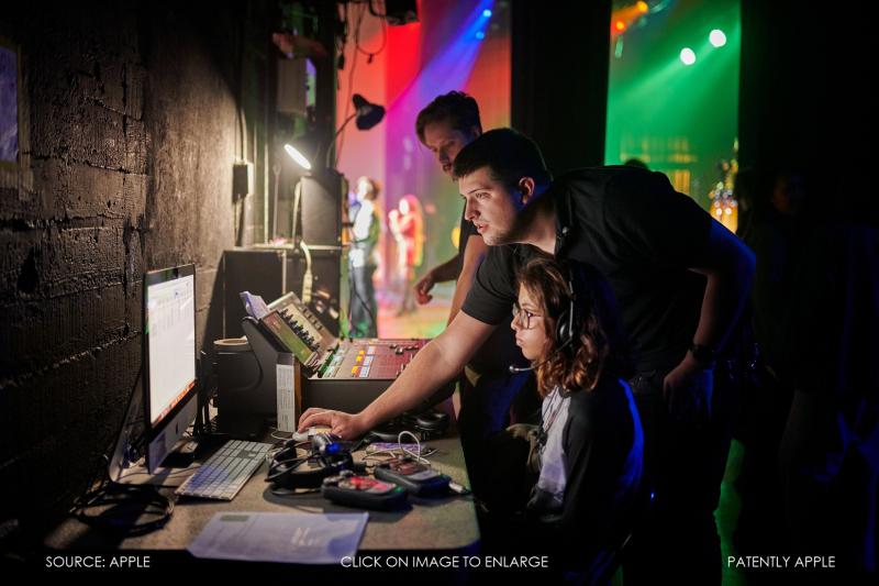 3 Apple-Distingished-Educators-Huntington-Beach-backstage-monitoring-team