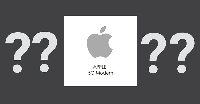 1 X2 cover graphic  Apple project for 5G modem