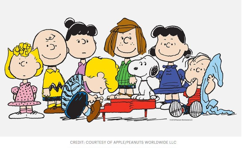 1 Cover Peanuts cartoon