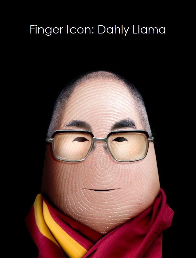 2 Finger ICON  Steve Jobs
