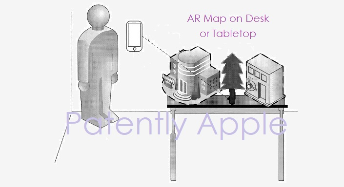 1 Cover - Apple files patent for AR version of Apple Maps dec 20  2018 Patently Apple Report