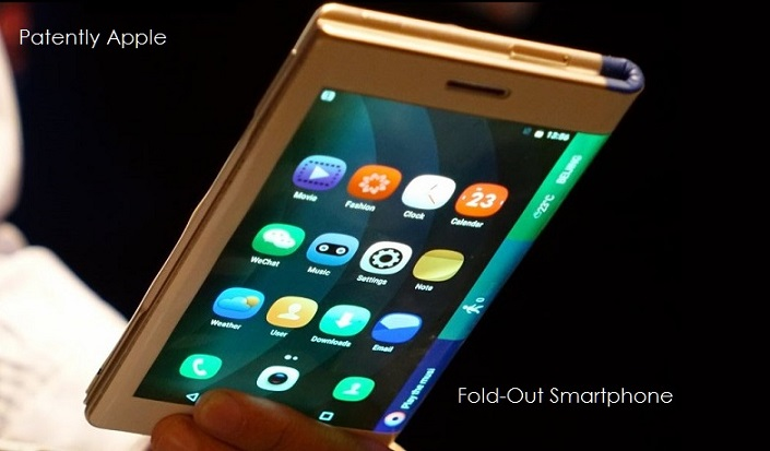 1 X Cover FOLD-OUT SMARTPHONE DESIGN