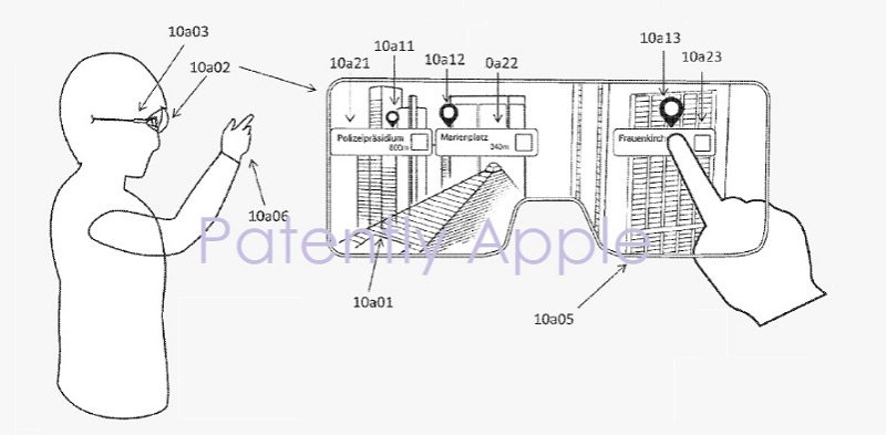 1 cover apple patent from Metaio