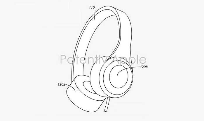 1 Cover  apple wins patent  fig. 1 over the ear headphones