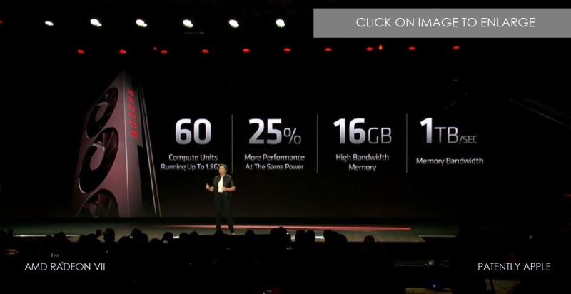 2 x AMD RADEON VII CES 2019 PATENTLY APPLE JAN 9