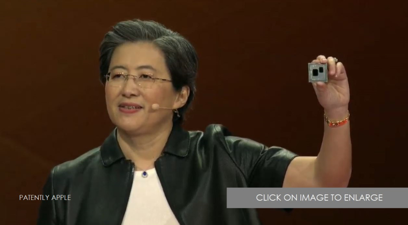1.5 EXTRA - AMD RYZEN 3 - 7NM - MID 2019 - AMD CEO AT CES 2019 - PATENTLY APPLE