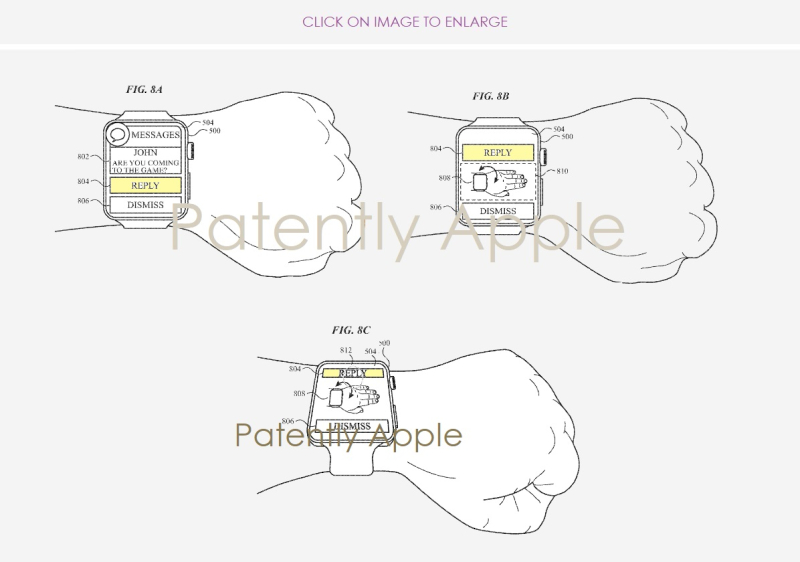 2 apple patent figs 8a b&c reply  dismiss  patently apple report