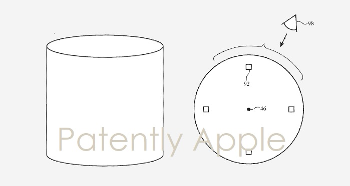 1 cover Future HomePod concepts patent
