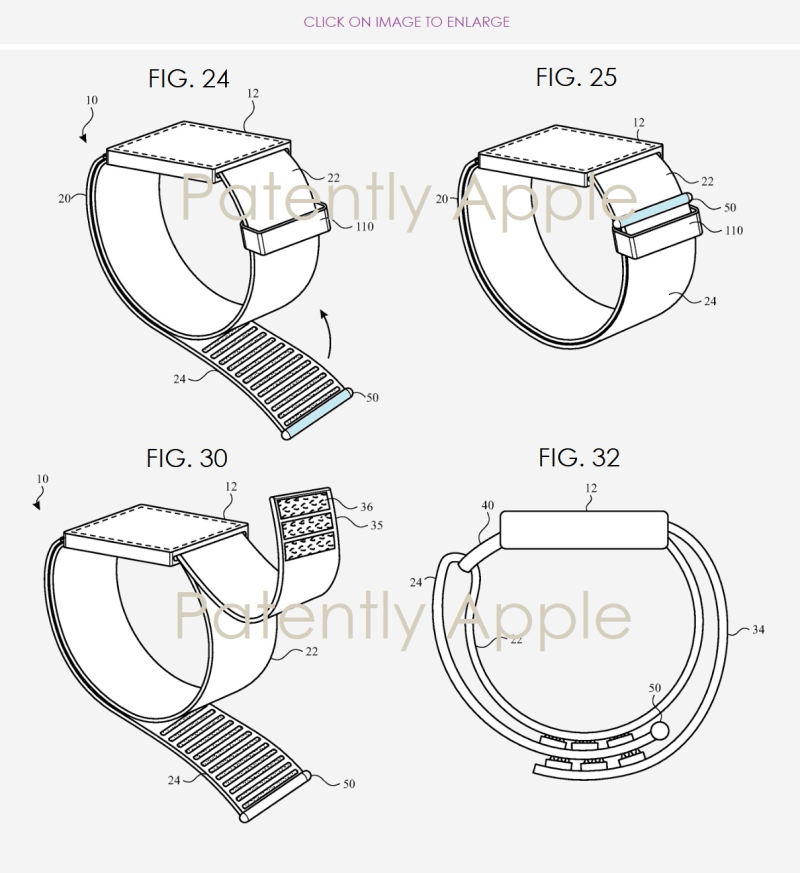 2. New Apple Watch Band Mechanics Patent
