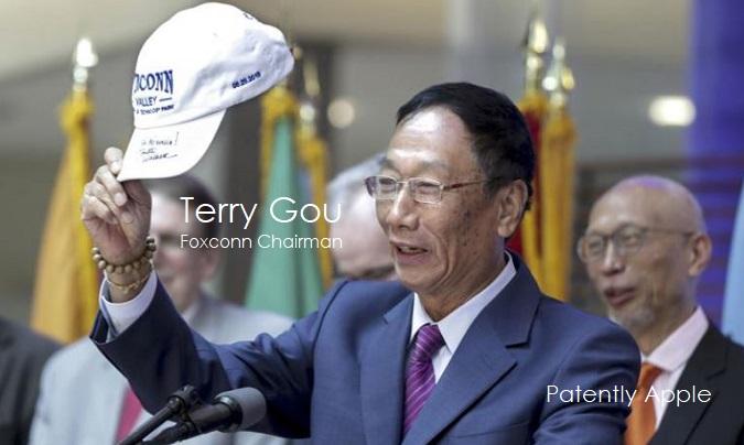 1 X cover Foxconn's Chairman Terry Gou