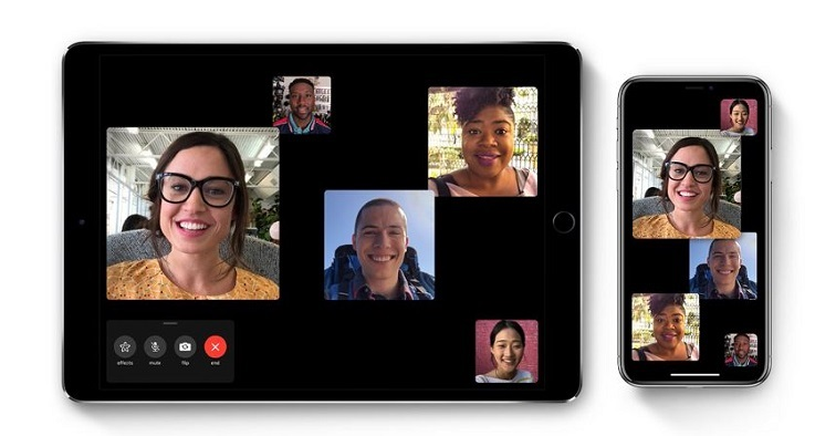 1 x2 cover Group FaceTime