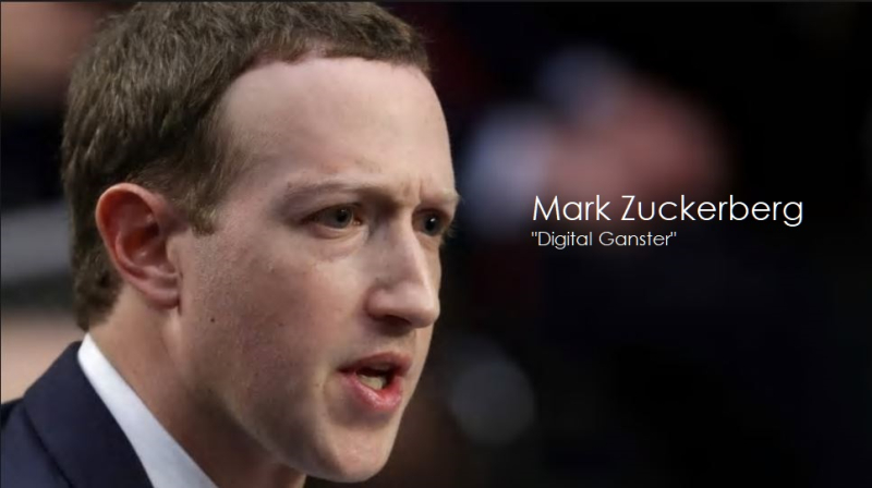 1 X Mark Zuckerberg  Facebook CEO  Digital Gangster