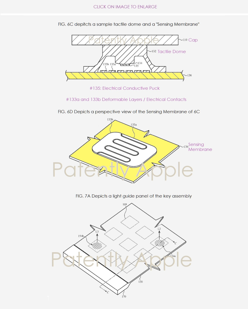 2 X Apple  new Keyboard invention  patent application Feb 21  2019  Patently Apple report